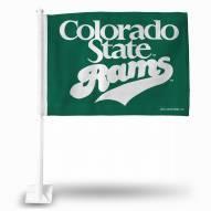 Colorado State Rams College Car Flag