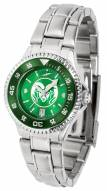 Colorado State Rams Competitor Steel AnoChrome Women's Watch - Color Bezel