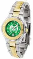 Colorado State Rams Competitor Two-Tone AnoChrome Women's Watch