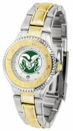 Colorado State Rams Competitor Two-Tone Women's Watch