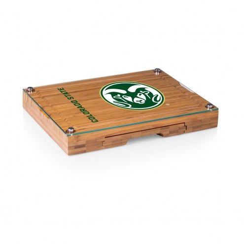 Colorado State Rams Concerto Bamboo Cutting Board