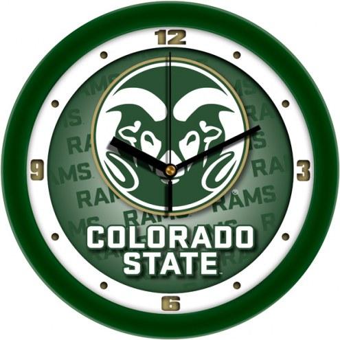 Colorado State Rams Dimension Wall Clock