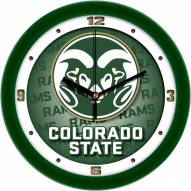 Colorado State Rams Dimension Wall Clock