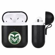 Colorado State Rams Fan Brander Apple Air Pods Leather Case