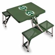 Colorado State Rams Folding Picnic Table
