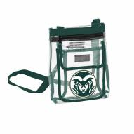 Colorado State Rams Gameday Clear Crossbody Tote