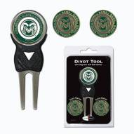 Colorado State Rams Golf Divot Tool Pack