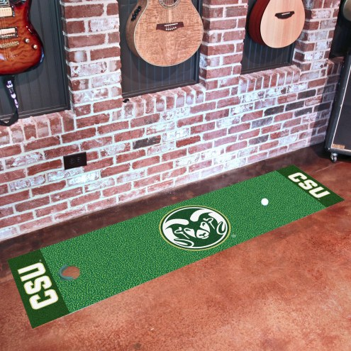 Colorado State Rams Golf Putting Green Mat
