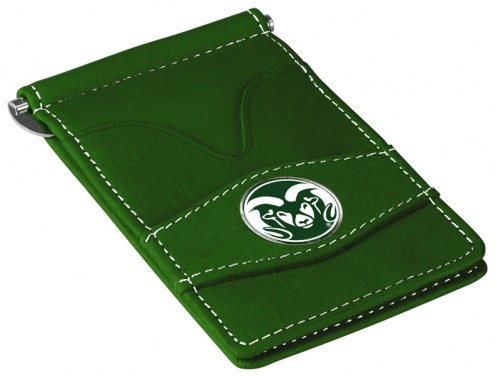 Colorado State Rams Green Player's Wallet
