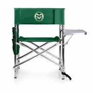 Colorado State Rams Hunter Green Sports Folding Chair