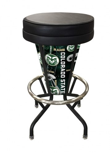 Colorado State Rams Indoor Lighted Bar Stool