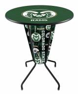 Colorado State Rams Indoor Lighted Pub Table