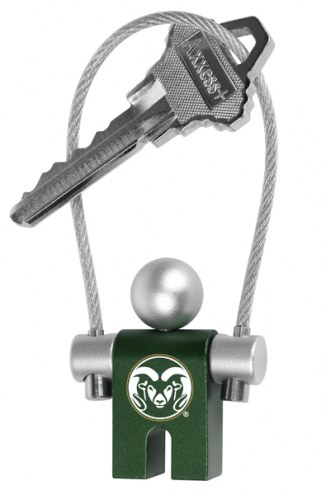 Colorado State Rams Jumper Keychain