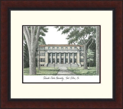 Colorado State Rams Legacy Alumnus Framed Lithograph