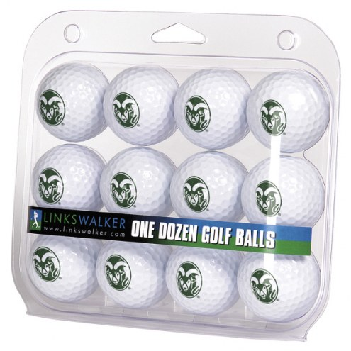 Colorado State Rams Dozen Golf Balls