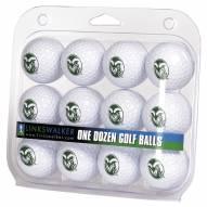 Colorado State Rams Dozen Golf Balls