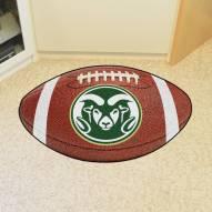 Colorado State Rams Logo Football Floor Mat