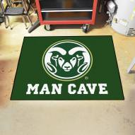 Colorado State Rams Man Cave All-Star Rug