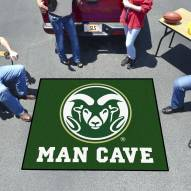 Colorado State Rams Man Cave Tailgate Mat