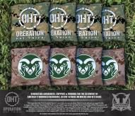 Colorado State Rams Operation Hat Trick Cornhole Bag Set