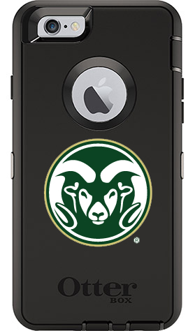 Colorado State Rams OtterBox iPhone 6/6s Defender Black Case
