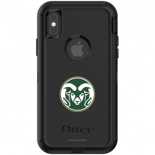 Colorado State Rams OtterBox iPhone X/Xs Defender Black Case