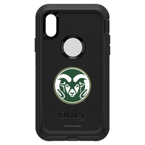 Colorado State Rams OtterBox iPhone XR Defender Black Case