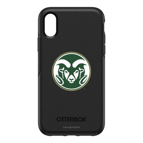 Colorado State Rams OtterBox iPhone XR Symmetry Black Case