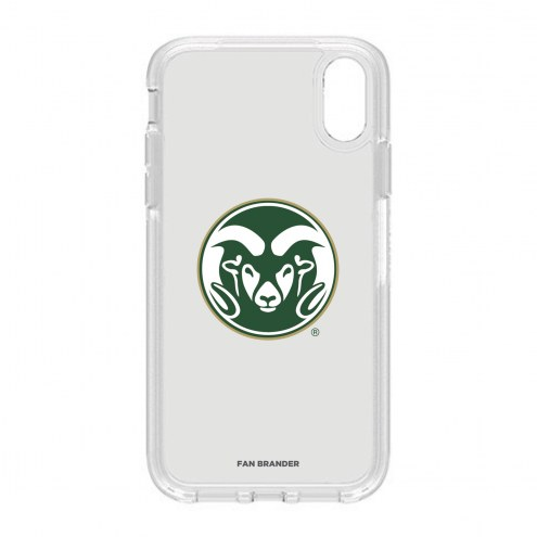 Colorado State Rams OtterBox iPhone XR Symmetry Clear Case