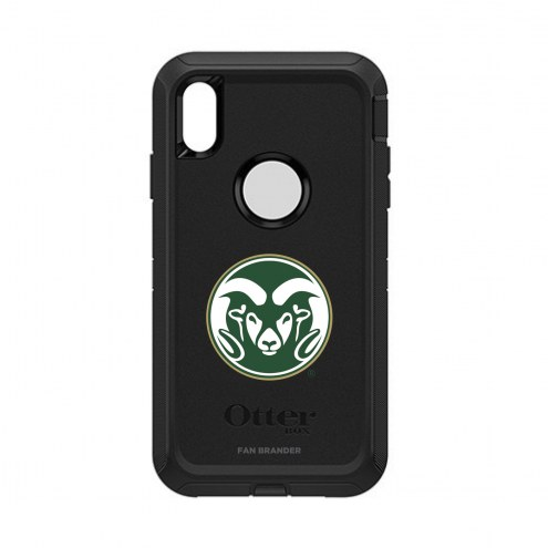 Colorado State Rams OtterBox iPhone XS Max Defender Black Case