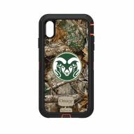 Colorado State Rams OtterBox iPhone XS Max Defender Realtree Camo Case