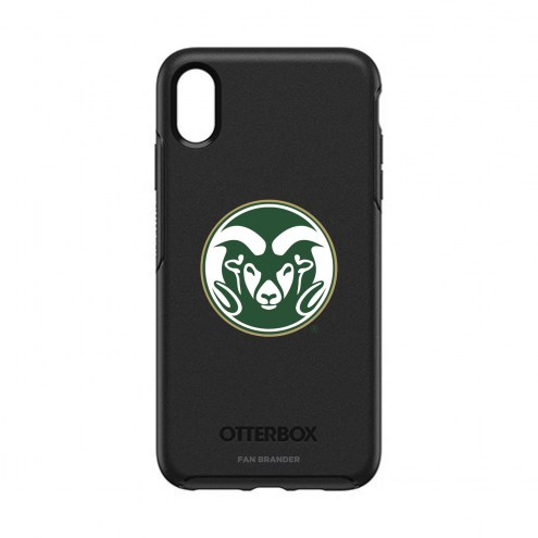 Colorado State Rams OtterBox iPhone XS Max Symmetry Black Case
