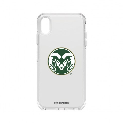 Colorado State Rams OtterBox iPhone XS Max Symmetry Clear Case
