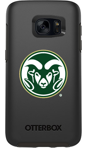Colorado State Rams OtterBox Samsung Galaxy S7 Symmetry Black Case