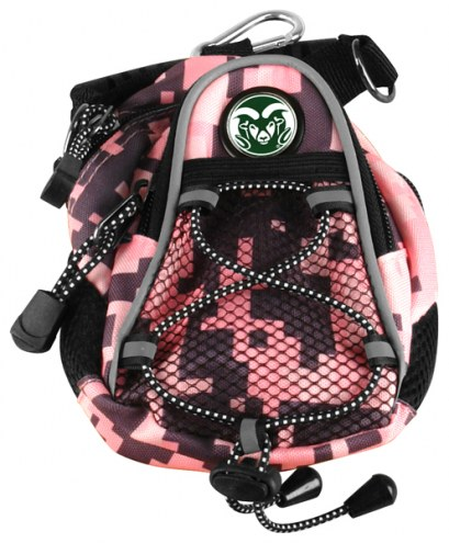 Colorado State Rams Pink Digi Camo Mini Day Pack