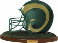 Colorado State Rams Collectible Football Helmet Figurine