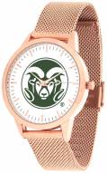 Colorado State Rams Rose Mesh Statement Watch