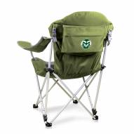 Colorado State Rams Sage Reclining Camp Chair