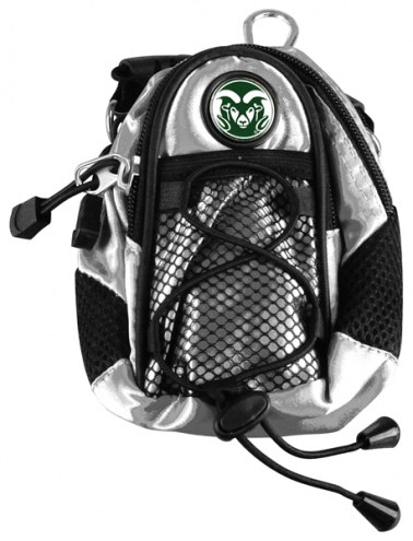 Colorado State Rams Silver Mini Day Pack