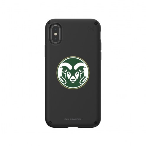 Colorado State Rams Speck iPhone X/Xs Presidio Pro Black Case