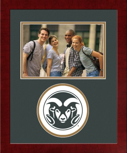 Colorado State Rams Spirit Horizontal Photo Frame