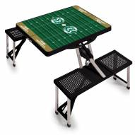Colorado State Rams Sports Folding Picnic Table