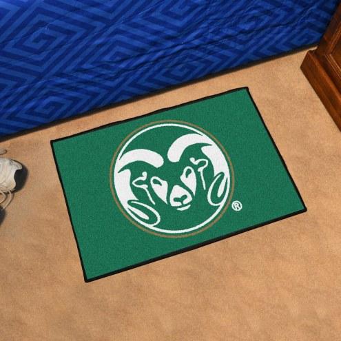 Colorado State Rams Starter Rug