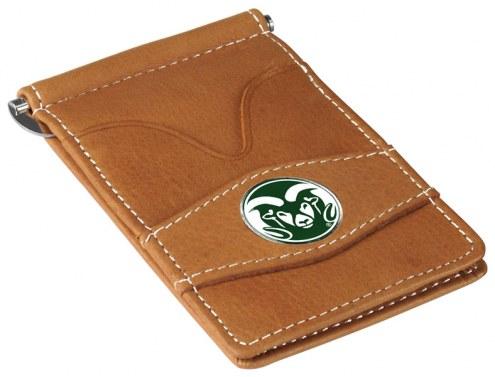 Colorado State Rams Tan Player's Wallet
