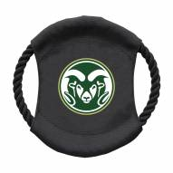 Colorado State Rams Team Frisbee Dog Toy