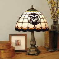Colorado State Rams Tiffany Table Lamp
