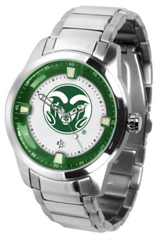 Colorado State Rams Titan Steel Men's Watch