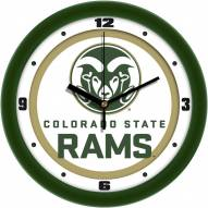 Colorado State Rams Traditional Wall Clock