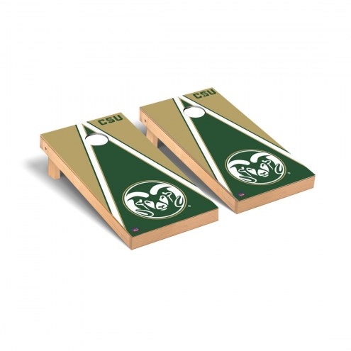 Colorado State Rams Triangle Cornhole Game Set