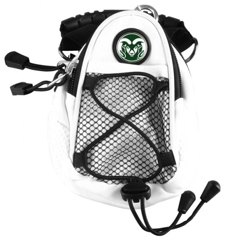 Colorado State Rams White Mini Day Pack